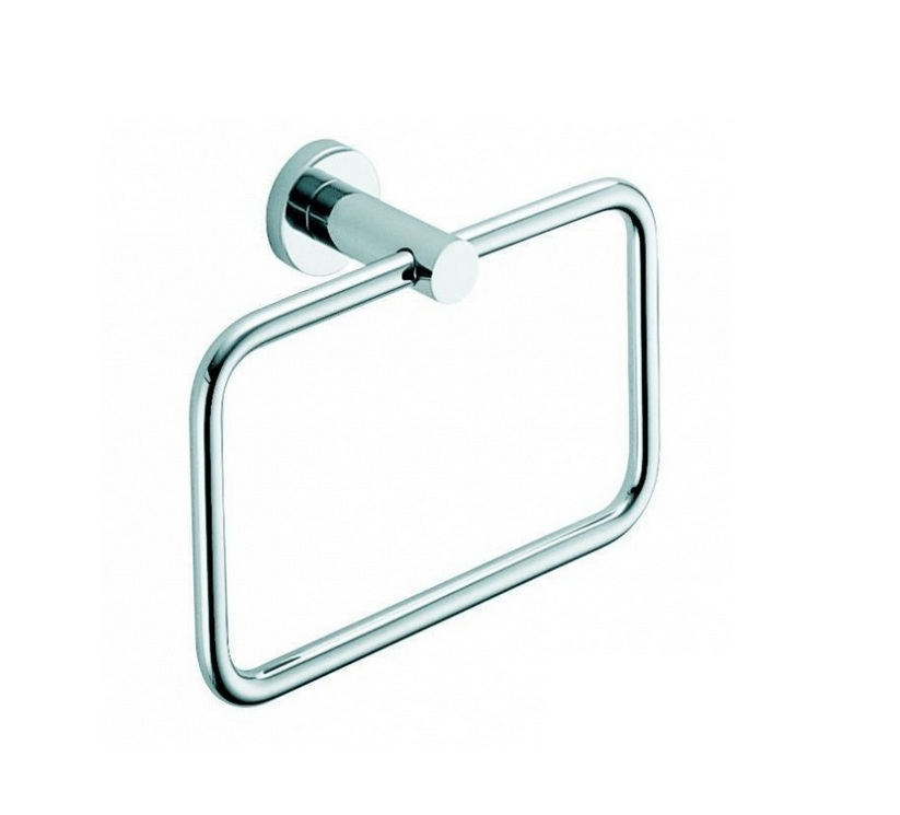 Wall-mounted Ring Towel Holder