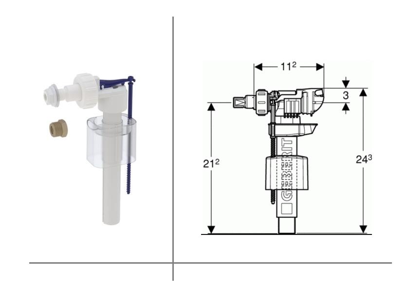 Universal Valve for Toilets